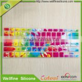 Dustproof keyboard protect cover with different language print