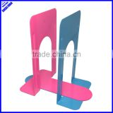 "High quality colored 9"" metal bookend"