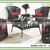 Hand Made rattan outdoor furniture outdoor Chairs set