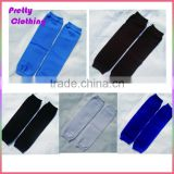 Multi blank colors cotton knee protector for toddler unisex kint leg warmers custom baby socks