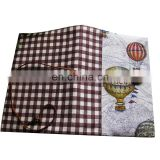 Promotional Soft Stretchable Spandex Fibre Book Cover, Printed Pattern Spandex Book Cover