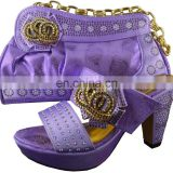 2016 Newest style good price ladies shoes and matching bags M16012723