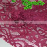 CC-L6040 2014 New style Nayon and Cotton solid lace knitted fabric for girls