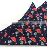custom design high quality 100% polyester printing hankerchief