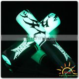 Light up led nunchuck style party cheering foam stick