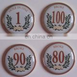 epoxy coating metal golf ball markers manufacturers