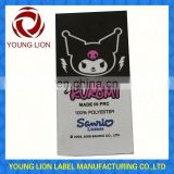 custom logo printed tags