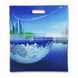 die cut nonwoven shopping handle bag