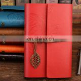 Vintage PU Leather Cover Loose Leaf Blank Journal Notebook Journal Diary Travel String