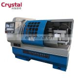 Unique efficient accurate design automatic mini micro cnc machine CK6140A small turning lathe