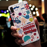 Factory directly for HUAWEI P20 relief painting and grinding TPU mobile phone protective shell