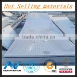 Hot Sale Materials 304 Stainless Steel Checkered Plate For Overbridge From Shanghai Factory Of China