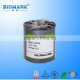 SINMARK H50300 Wash Resin Thermal Printer Ribbon for Cloth Heat Label