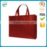 colorful printed fashion promotional gift foldable pp laminated non woven shopping bag with customized logo
