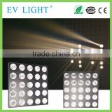 Hot sale Factory price 5x5pcs 3W LED warm white with BEAM matrix light/stage panel light EV-MTX25B