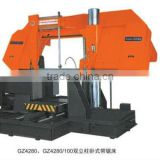 GZ4280/100 China Hydraulic Horizontal band saw machine horizontal bandsaw for wood