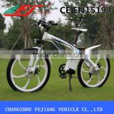 FJ-TDE01 full suspension aluminum mountain electric bike frame