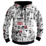 Sublimation custom print high quality wholesale cheap plain thick hoodies                                                                         Quality Choice