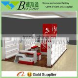 high quality cheap wood shoes display showcase design for shop decoration furniture