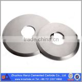 Tungsten Carbide Cutter circular blade knife/ Tungsten carbide disc cutter/ Round tungsten carbide cutters