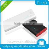 Trulyway Bionics shark design TL-40 13000mAh Dual USB output external battery for smart phones and digital devices