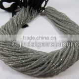 Wholesale Labradorite Micro Cut Roundelle Beads