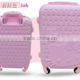 "Fancy 20"" 24"" 28"" PC/ABS 360 Hardshell Luggage Suitcase Girls Trolley Case"