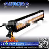 20 inch 120w all weather mix light bar auto led off road light bar led lightbar amber
