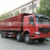 hoting sale SINOTRUK HOWO 8*4 dump truck in Ethiopia for sale                                                                         Quality Choice