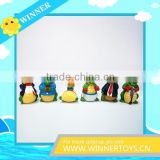 Lovely penguin figure with OEM toy factory