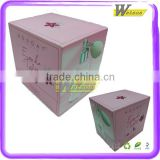 Factory manufacture cosmetic cardboard gift packing box with eva foam packaging interior