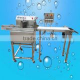 Hot Sale Manufacturing sautomatic peanut coating machine, chocolate candy coating machine, chocolate enrober machine(ZQ-YMTC15)