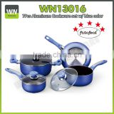 Eco-friendly aluminium ceramic/nonstick coating cookware casserole cookware sets with fry pan,suace pan