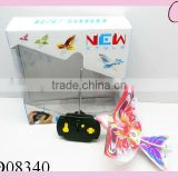2 channel infrared remote control bird with sound(head with led)