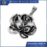silver stainless steel jewelry flower 925 sterling silver jewelry wholesale