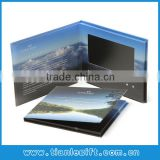 Advertising Gift 7 inch Touch Screen Video Card Video Brochure Video Book