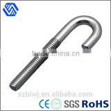 carbon steel zinc plated hook bolt high strength anchor hilti j bolt