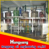 10-100tpd used /waste cooking oil refinery/refining/refined processing machine