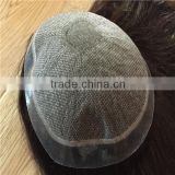 100% European Virgin Silk Top human hair topper,silk top women toupee