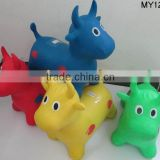2016 jumping Animal inflatable toy hopper horses for children toys