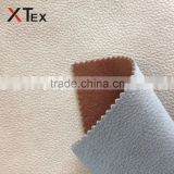 100 polyester material three layer embossing bronzeing suede leather fabric for sofa upholstery online