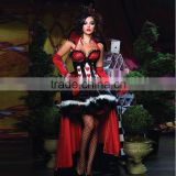 queen of hearts costume women adult Alice In Wonderland cosplay party sexy halloween costumes for women fantasy