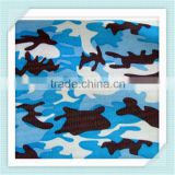 polyester cotton Ocean blue camouflage military fabric for navy sodier uniform                                                                                                         Supplier's Choice