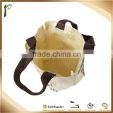 Popwide Pretty offset printing canvas tote bag, hemp bags wholesale