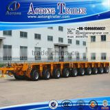 Best selling Multi hydraulic axle transportation equipment modular trailer with hydraulic power neck and lifting platform