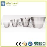 Measuring cups stainless steel thicken mix milk jug 500ml size custom measuring cups