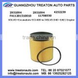 OIL FILTER 2931094 4252239 F411201510010 11708550 FOR VOLVO EXCAVATORS-EC140B-W VOLVO D4D-EAE1