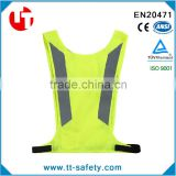 EN471 high visibility fluorescent jackets cycling for riding motorcycle safety