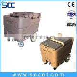 SCC SB1-C110 Dry ice transit container for banquet use, dry ice storing caddy for hotel use