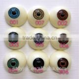 30mm doll large plastic eyes in acrylic